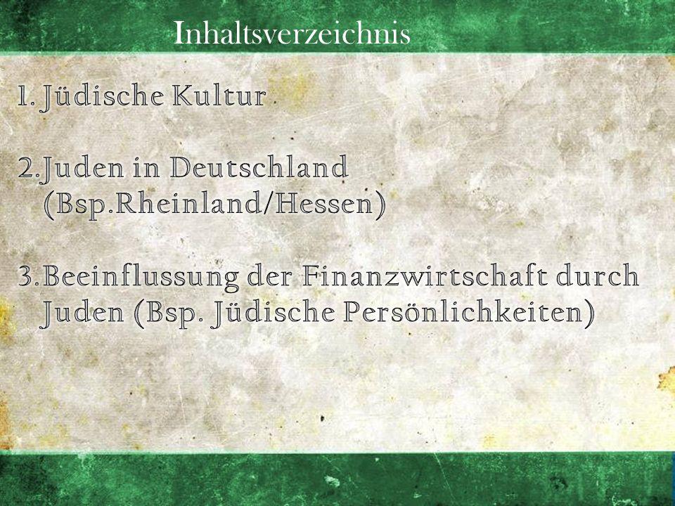 Jüdische Kultur: Das Judentum Judentum, was ist das.