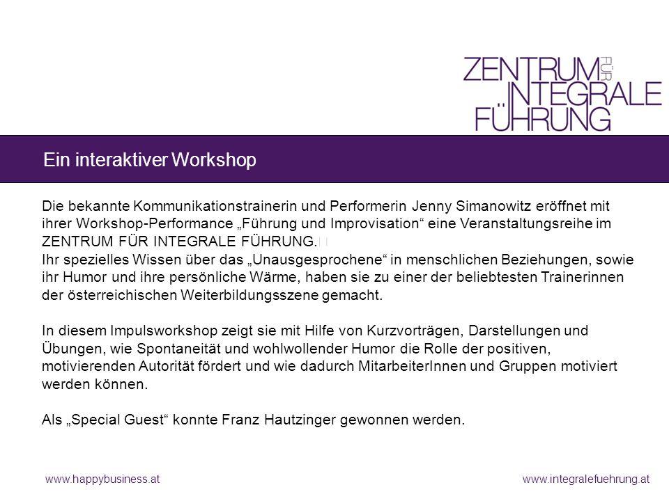 www.happybusiness.at Sie erzeugen den Flow-Zustand, der Vorstellungskraft, Konzentration und Selbstvergessenheit fördert.