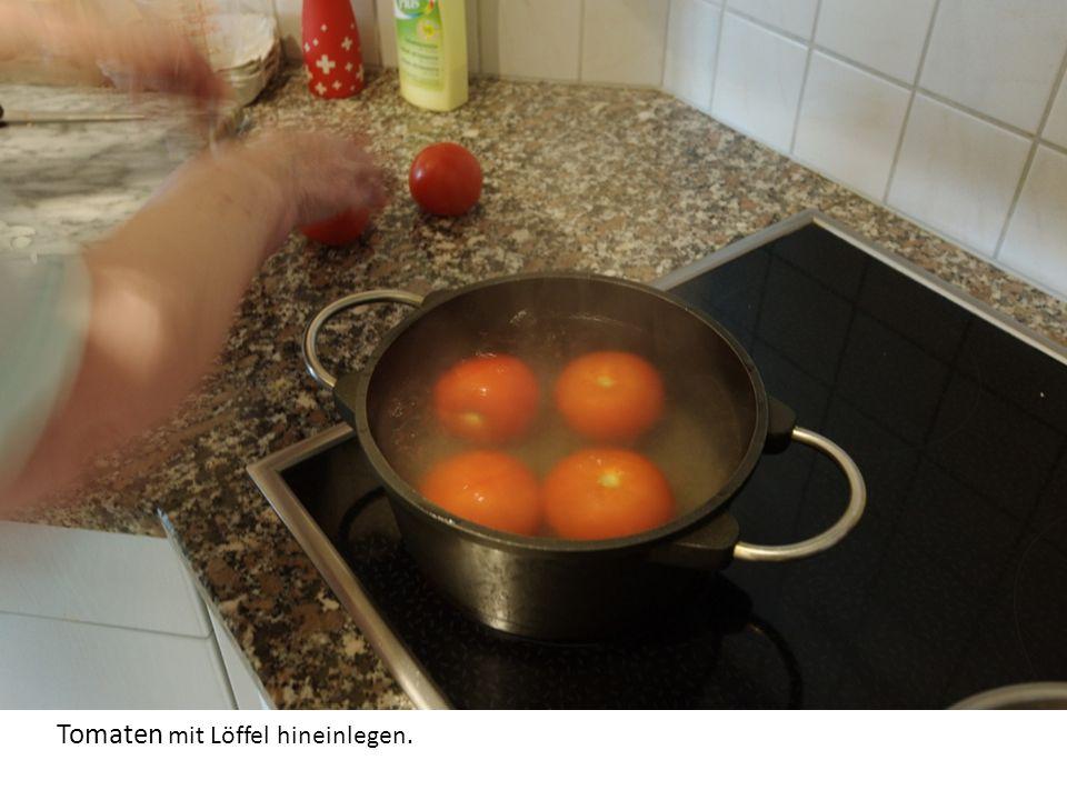 Wasser zum kochen bringen