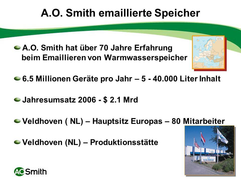 6 A. O. Smith Produktion