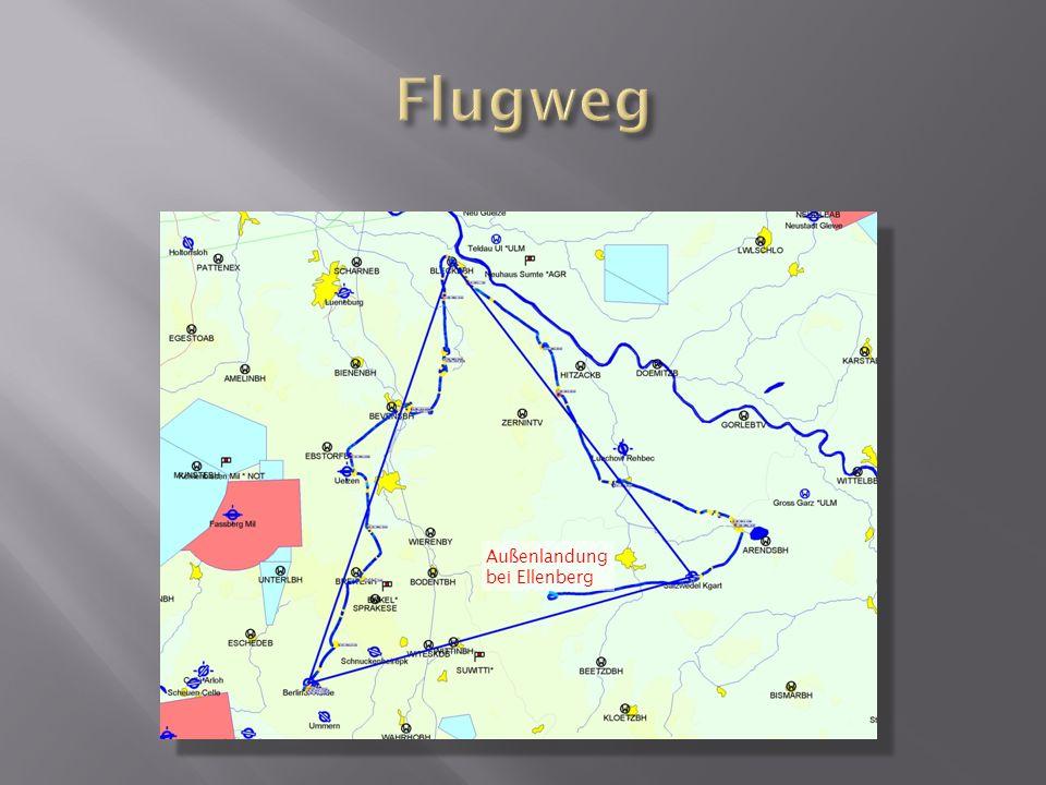 Außenlandung bei Ellenberg