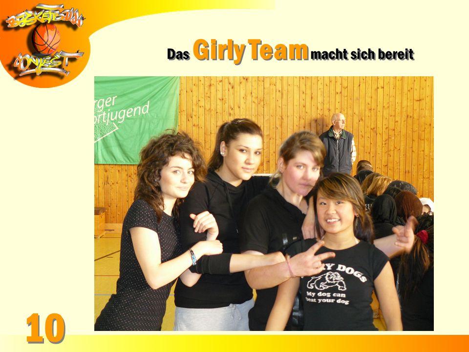 Das Girly Team macht sich bereit 10