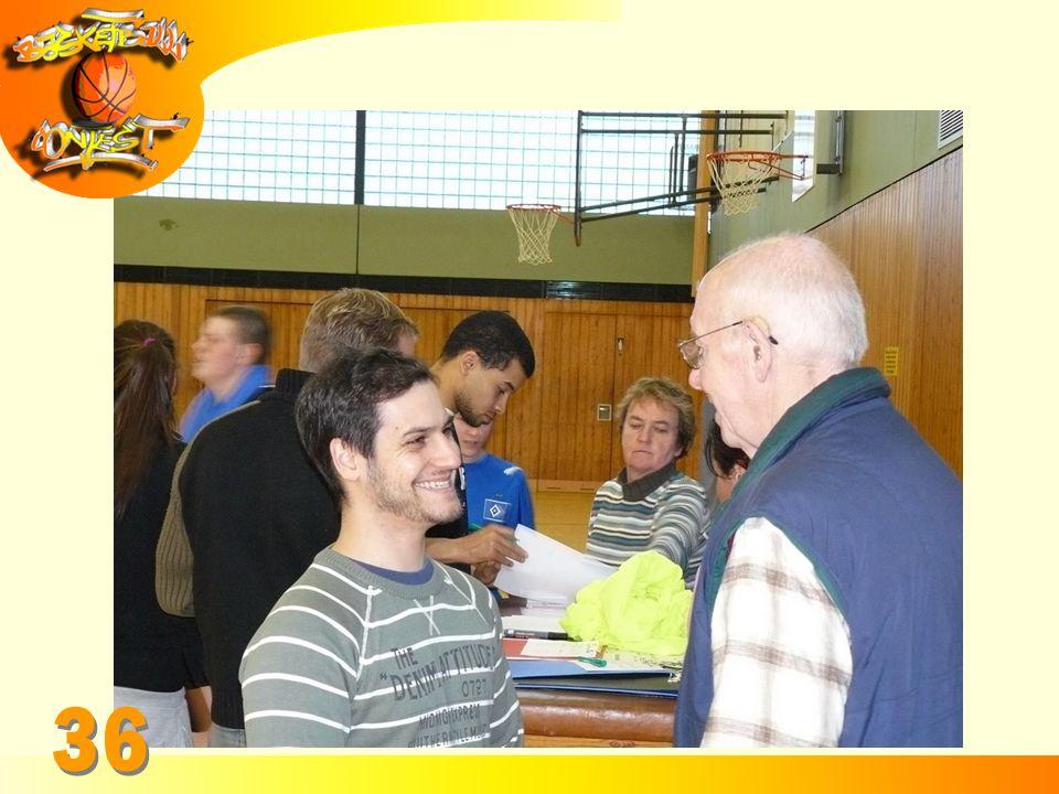 DANKE SCHÖN Das Basketball Contest Team bedankt sich bei allen teilnehmenden Schülern der Gesamtschule Öjendorf.