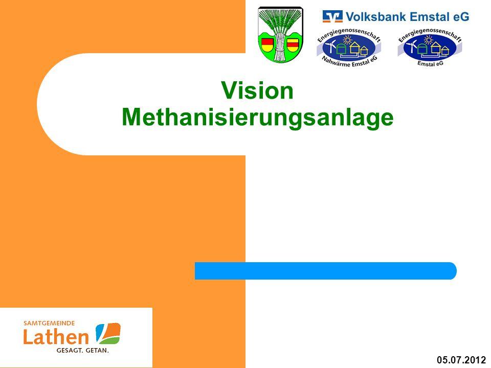 Vision Methanisierungsanlage 05.07.2012