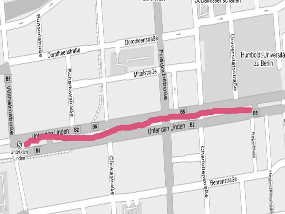 Aus HU… An Potsdamer Platz steigen Sie um U2 Linie.