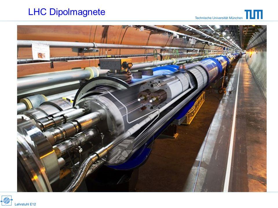 LHC Dipolmagnete