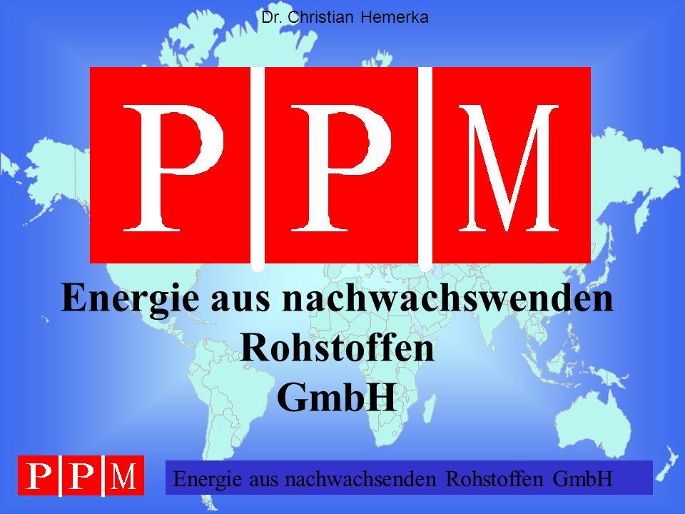 Energie GERMANY GmbH Dr. Christian Hemerka Energie aus nachwachswenden Rohstoffen GmbH Energie aus nachwachsenden Rohstoffen GmbH