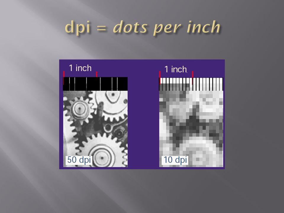 Bitmaps (Rastergrafiken ) - Für die Darstellung von Bildern wird ein Farbraster aus Pixeln verwendet - Jedem Pixel ist eine bestimmte Position und ein Farbwert zugewiesen - Vorteile:Sie können Schattierungen und Farben in feinen Abstufungen wiedergeben.