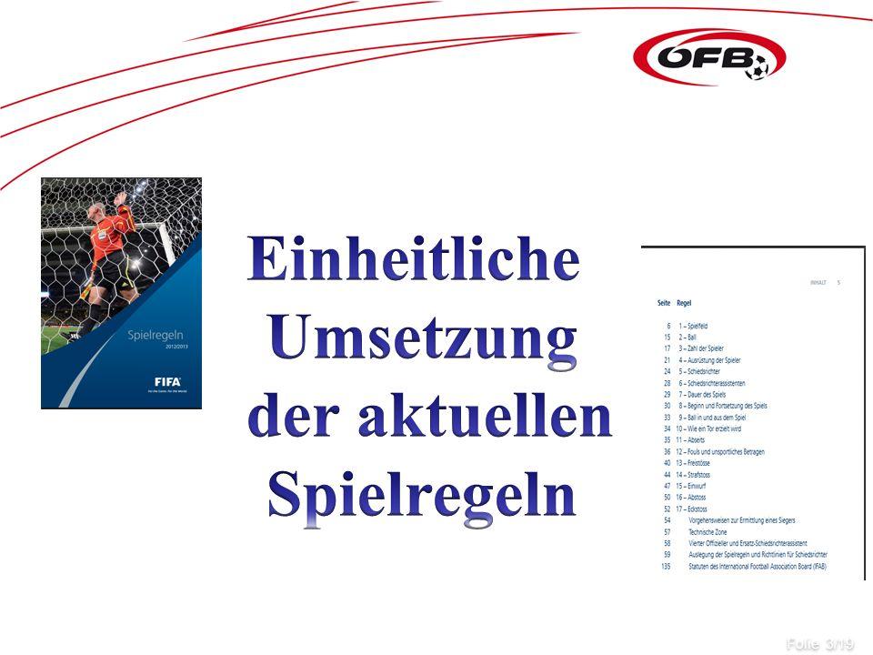 Betreuerbank und Coachingzone Folie 3/19