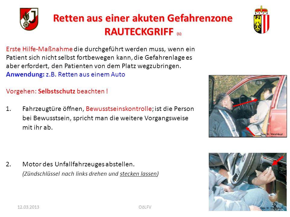 15 Notruf 144 absetzen Selbstschutz (Handschuhe) Feste Substanzen wegwischen (z.B.