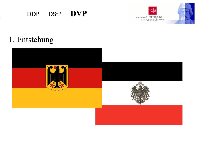 Reichtagswahlergebnisse DStP DDP DStP DVP Quelle: http://www.bundestag.de/kulturundgeschichte/geschichte/infoblatt/reichstagswahlergebnisse.pdf (aus: Jürgen Falter u.a., Wahlen und Abstimmungen in der Weimarer Republik, München 1986)