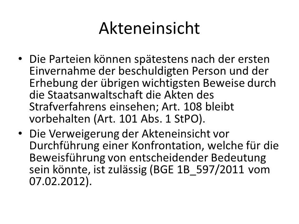 BGE 1B_264/2012 vom 10.10.12 = BGE 139 IV 25 ff.