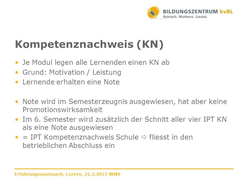Muster für einen Raster mit verschiedenen Teilaufgaben in einem Formular 2.1.6 Bewertungsraster Allfinanz und Treuhand Erfahrungsaustausch, Luzern, 21.3.2013 WMS