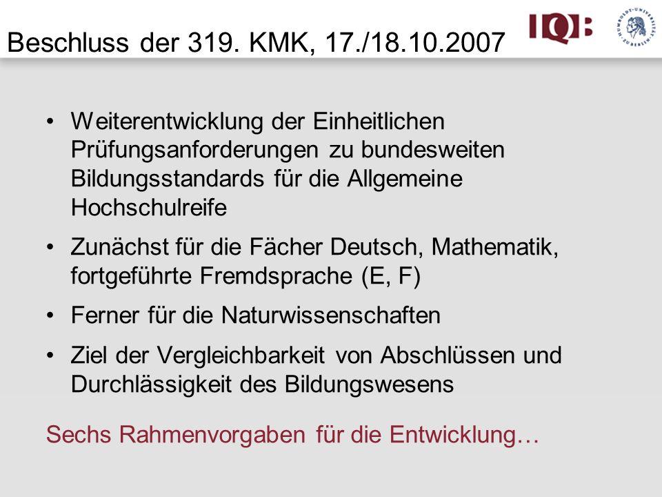 Ziele der gymnasialen Oberstufe (KMK 1972 i.d.F.