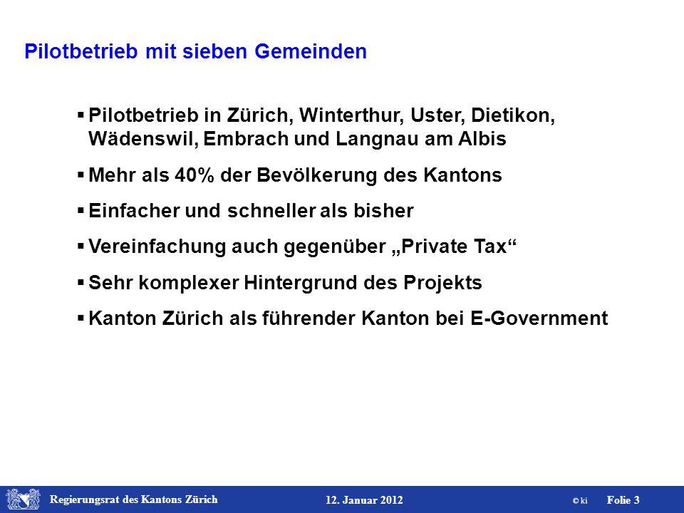 Regierungsrat des Kantons Zürich Folie 24 12.
