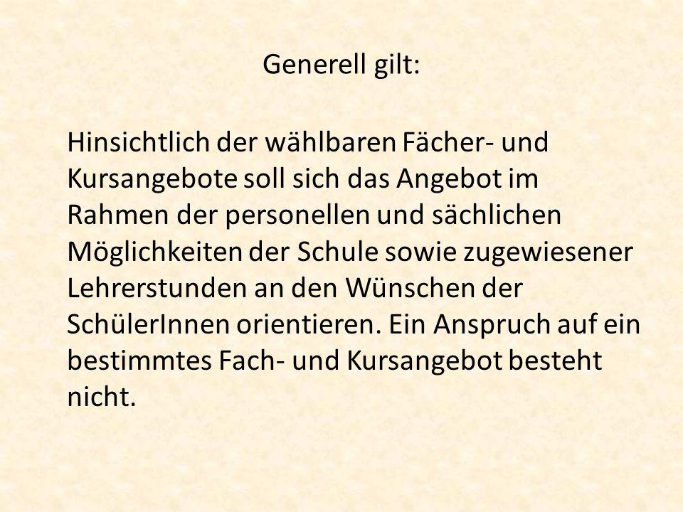 Kurswahlbogen Abgabe der Kurswahlbögen bis 14.02.2013 an die Klassenlehrer