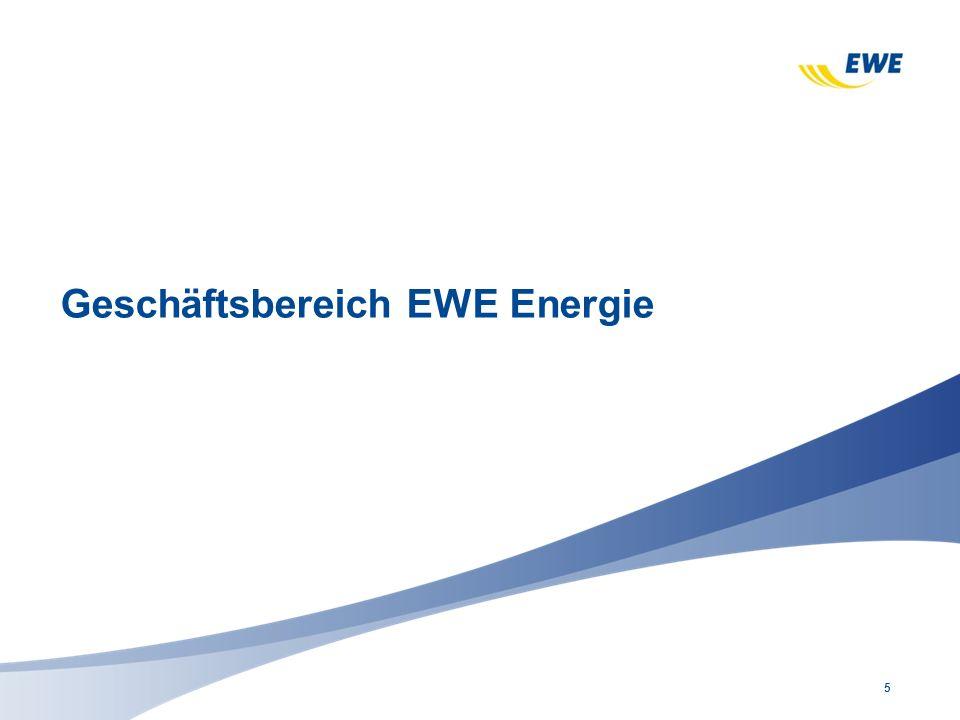 5 Geschäftsbereich EWE Energie
