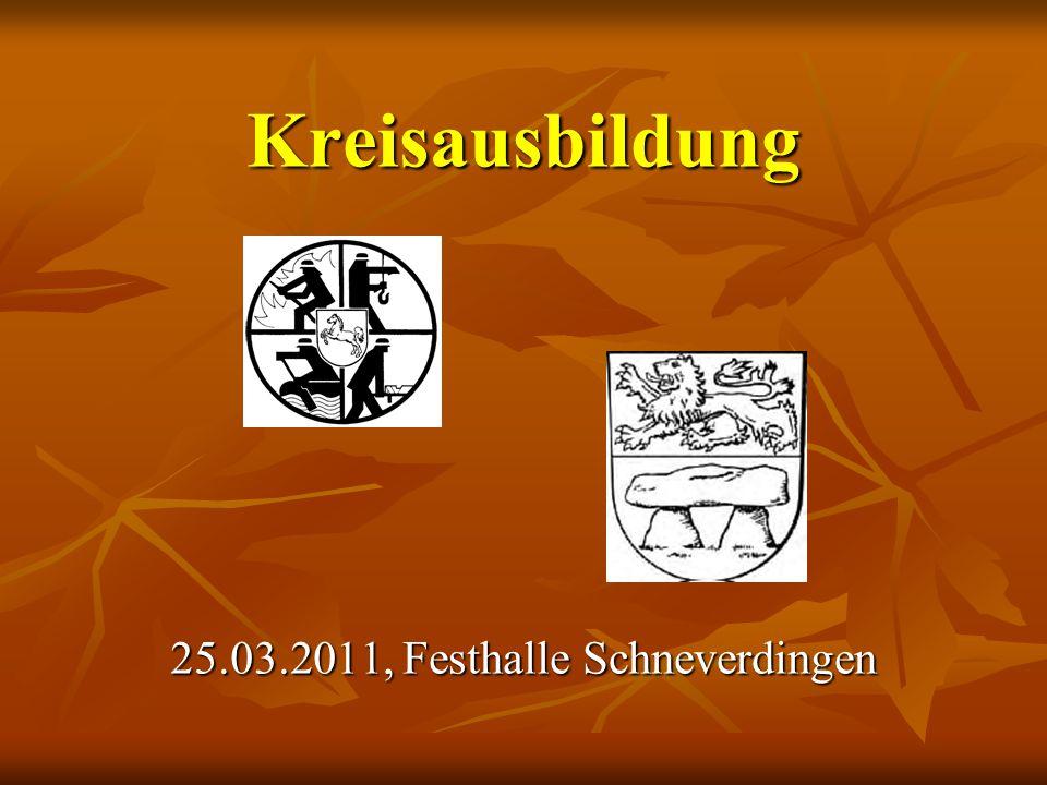 Kreisausbildung 25.03.2011, Festhalle Schneverdingen