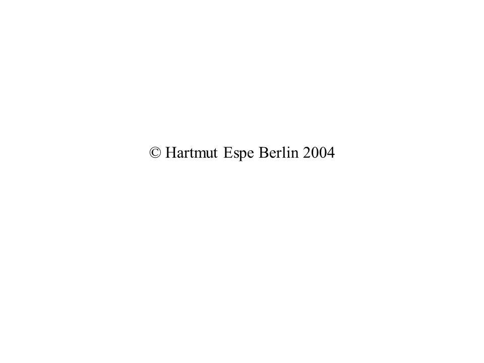 © Hartmut Espe Berlin 2004
