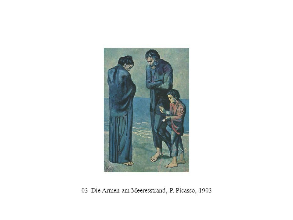 03 Die Armen am Meeresstrand, P. Picasso, 1903