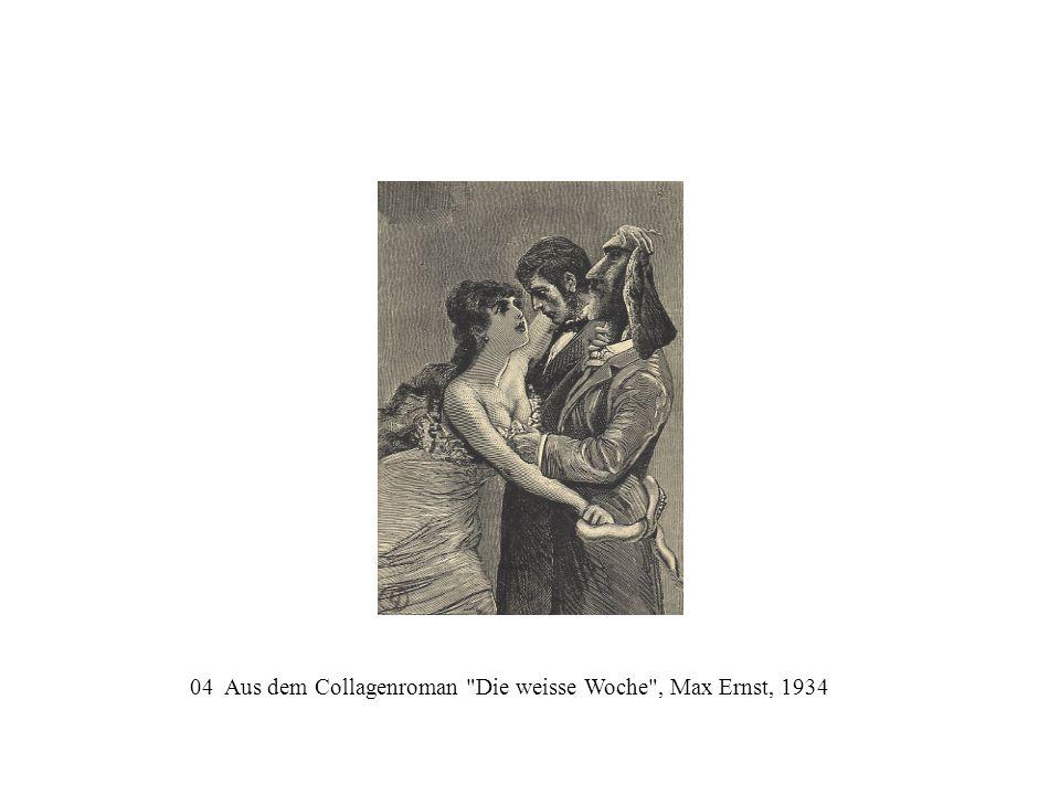 04 Aus dem Collagenroman Die weisse Woche , Max Ernst, 1934
