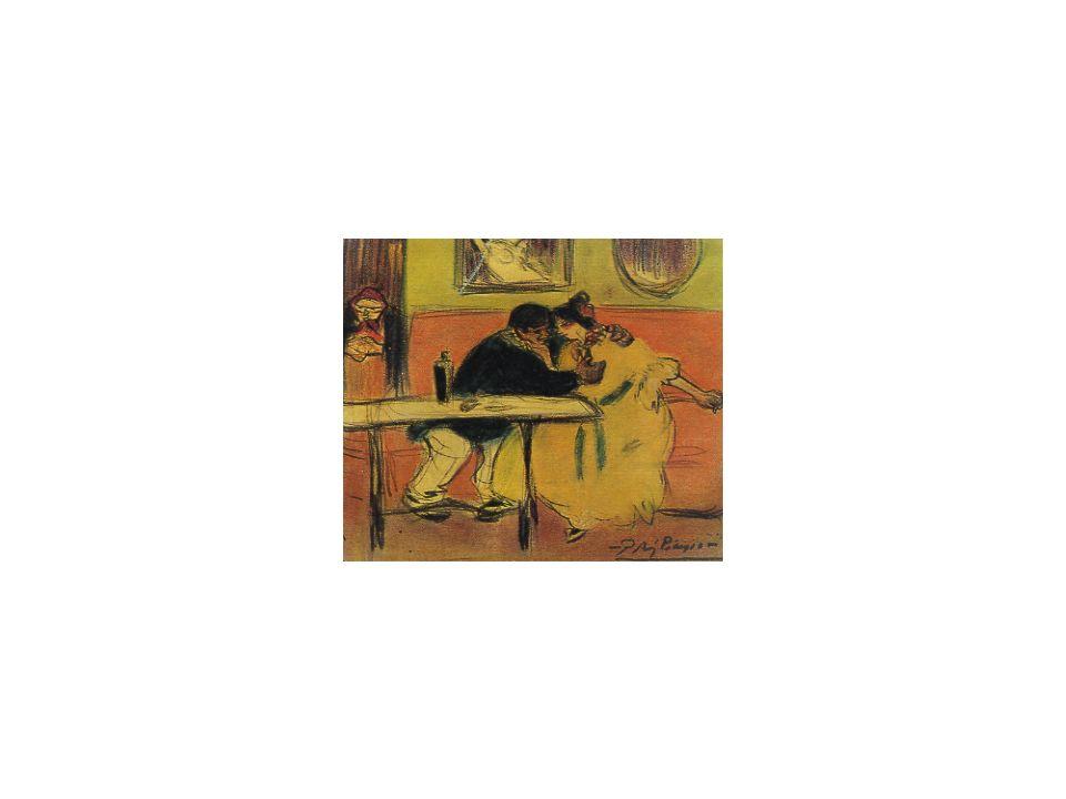 05 Der Diwan, P. Picasso, 1901