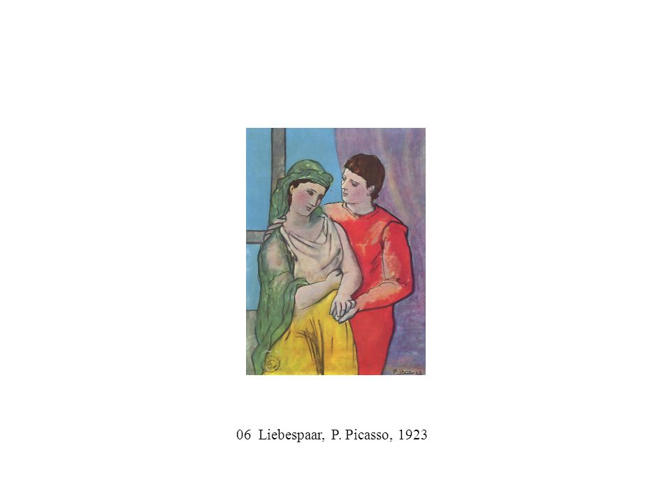 06 Liebespaar, P. Picasso, 1923