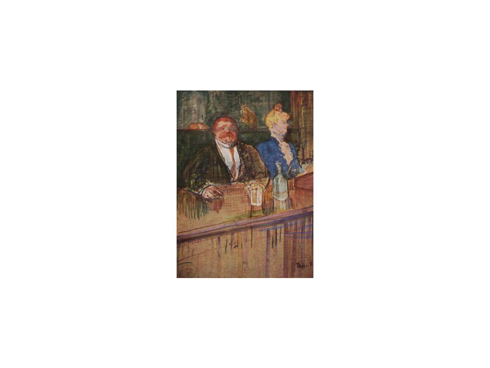07 An der Bar / Die bleichsüchtige Kassiererin, H. de Toulouse-Lautrec, 1898