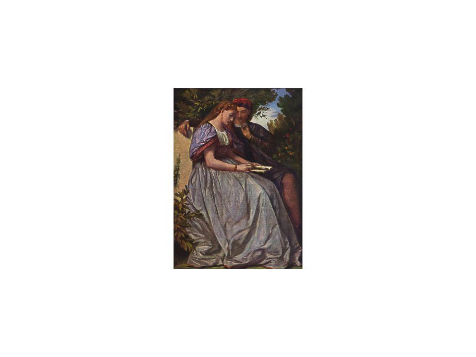 10 Francesca da Rimini e Paolo, A. Feuerbach, ca. 1865