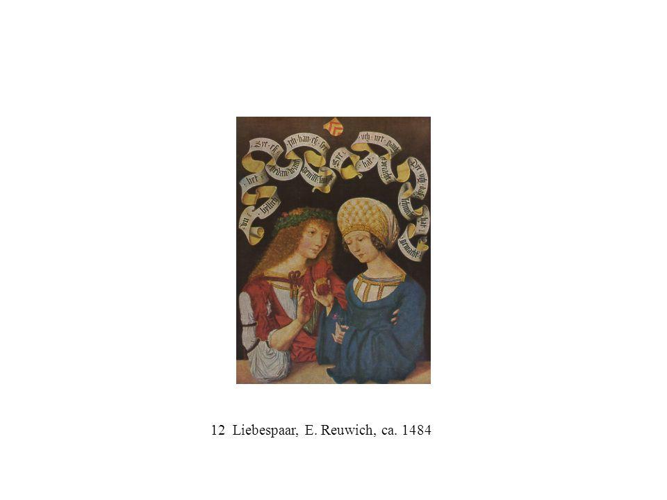 12 Liebespaar, E. Reuwich, ca. 1484