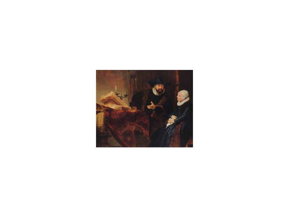 13 Der Mennonitenprediger Anslo, Rembrandt H. v. R., 1606-1669