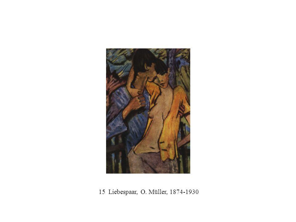 15 Liebespaar, O. Müller, 1874-1930