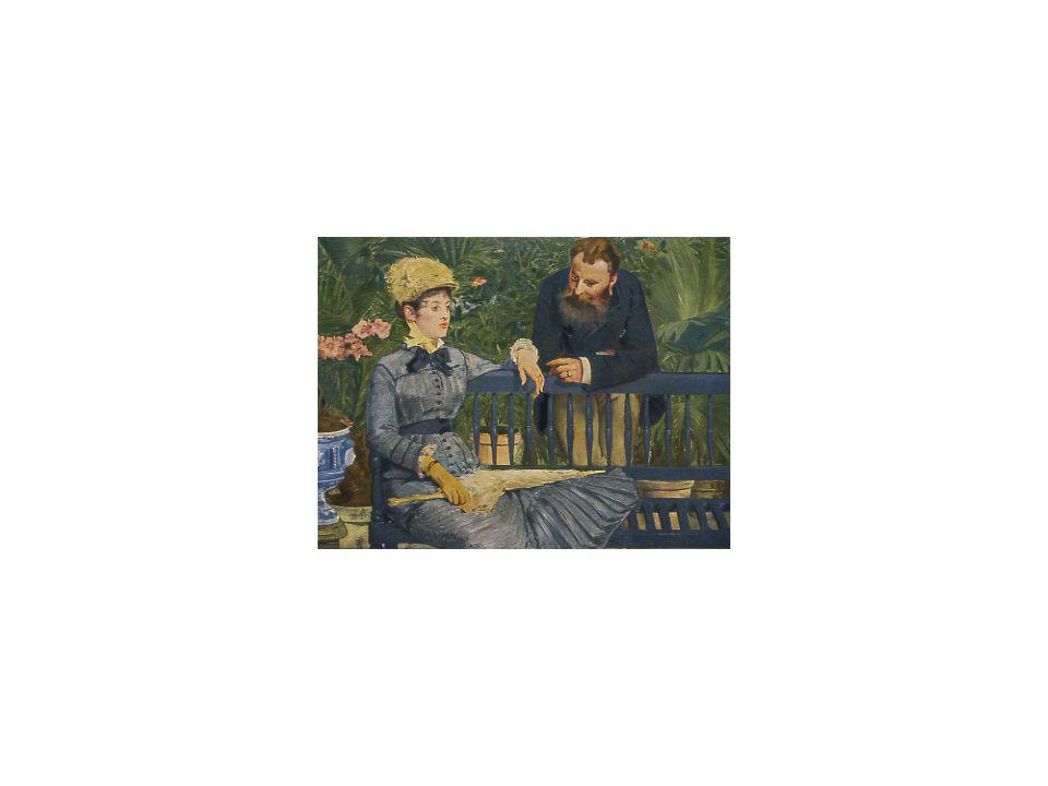 22 Im Wintergarten, E. Manet, 1879