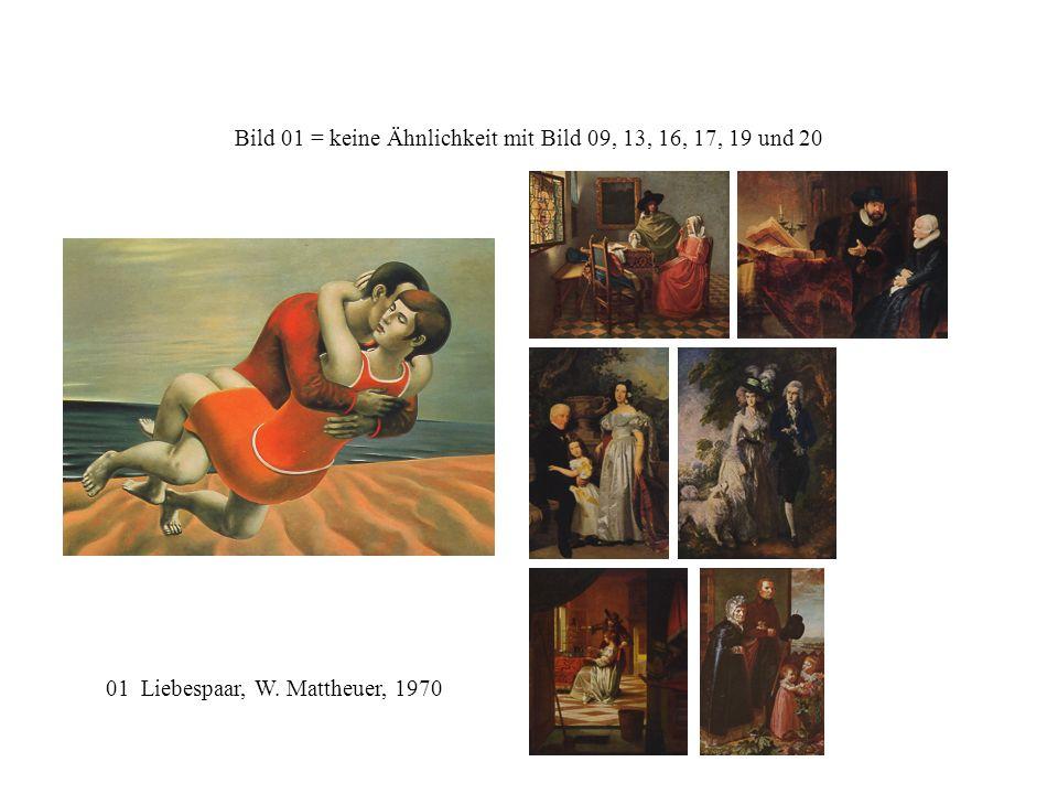 Bild 01 = keine Ähnlichkeit mit Bild 09, 13, 16, 17, 19 und 20 01 Liebespaar, W. Mattheuer, 1970