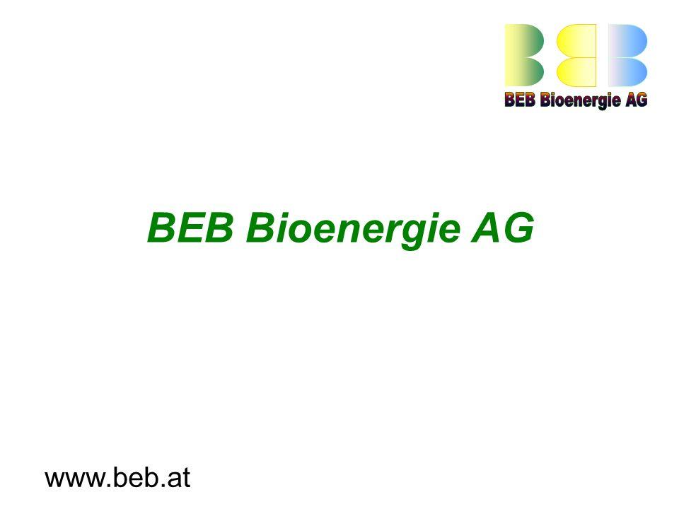 BEB Bioenergie AG www.beb.at