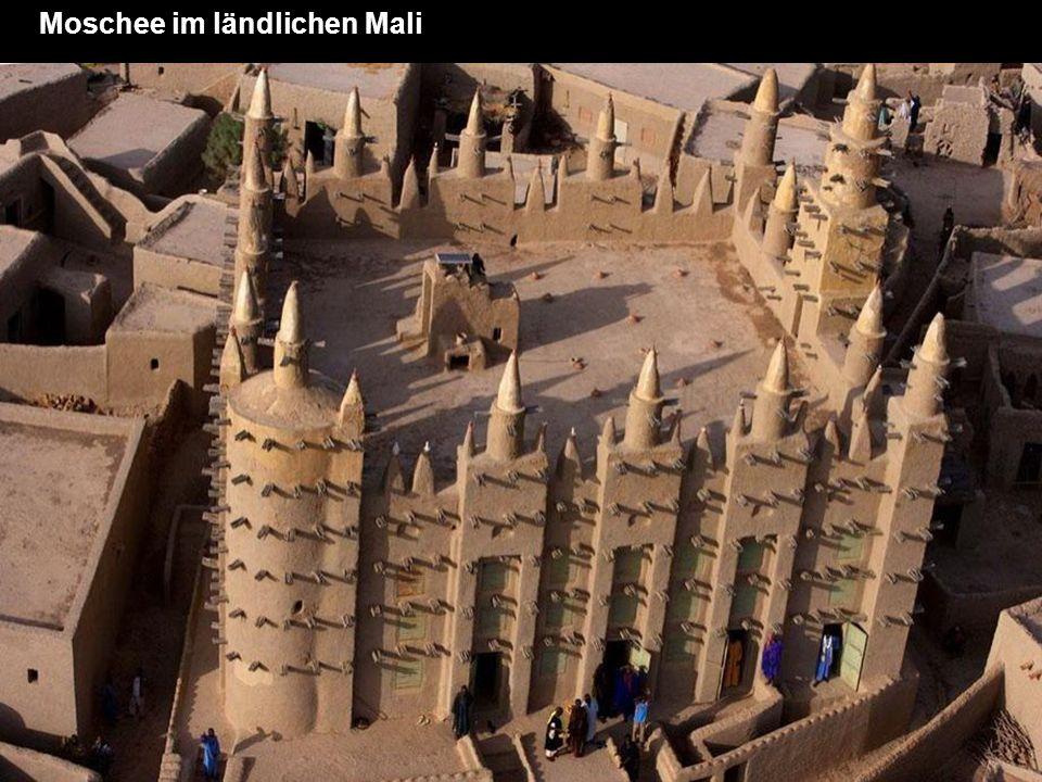 Moschee im ländlichen Mali