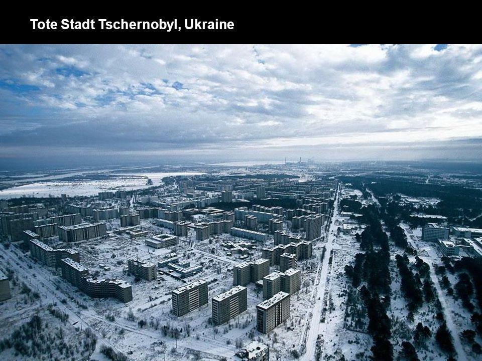 Tote Stadt Tschernobyl, Ukraine