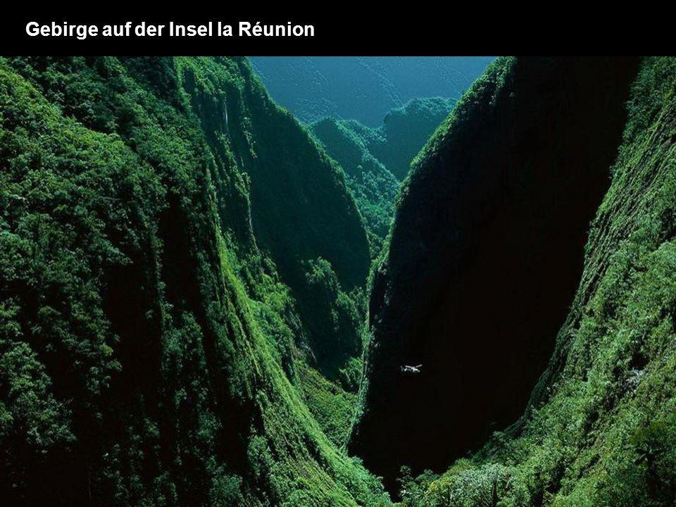Gebirge auf der Insel la Réunion