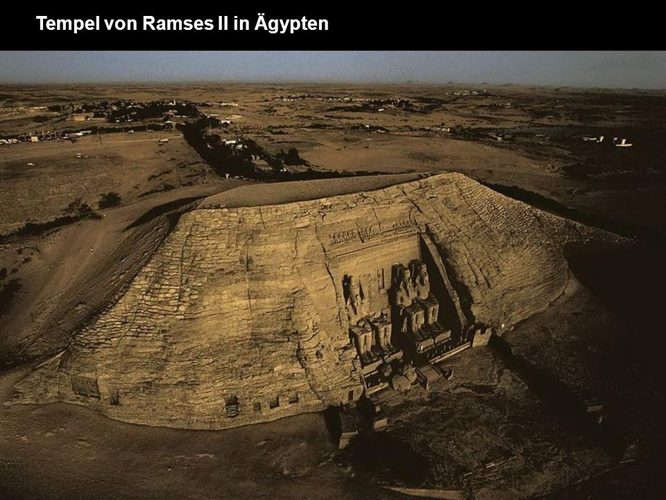 Tempel von Ramses II in Ägypten