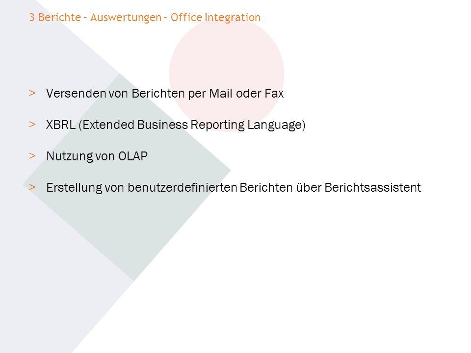 > Versenden von Berichten per Mail oder Fax > XBRL (Extended Business Reporting Language) > Nutzung von OLAP > Erstellung von benutzerdefinierten Beri