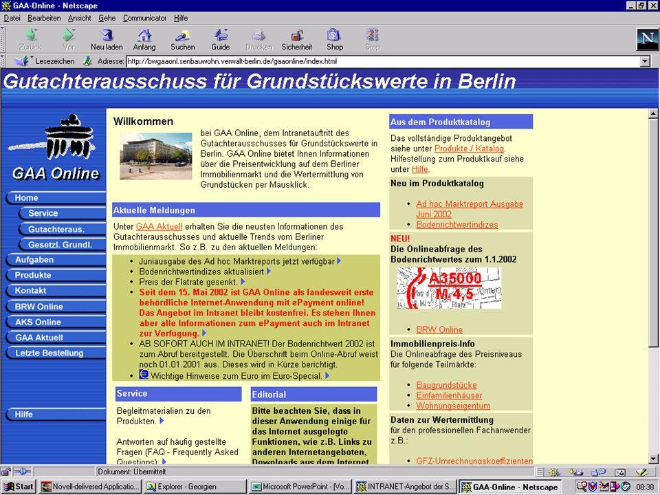 1 Geschäftsstelle des Gutachterausschusses für Grundstückswerte in Berlin Senatsverwaltung für Bauen, Wohnen und Verkehr - V F 43 -
