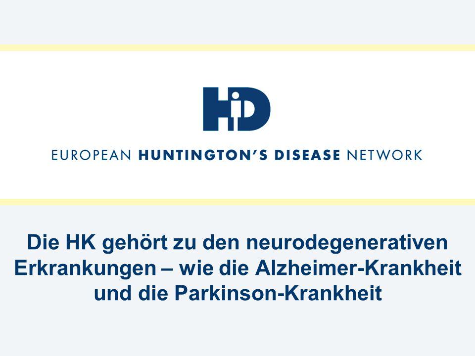 Was tut das europäische Huntington-Netzwerk.
