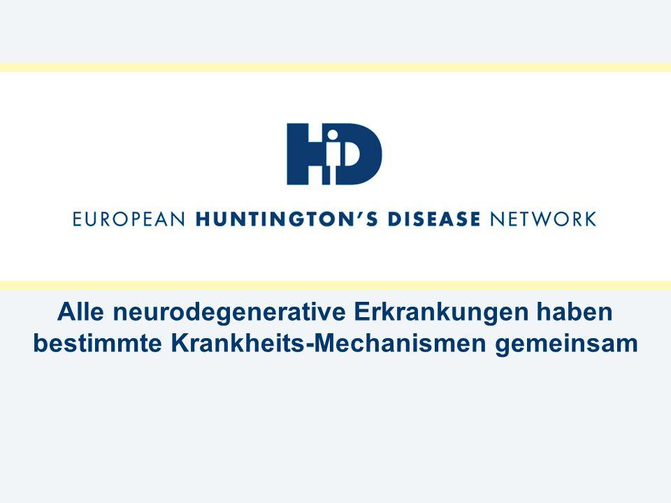 Kann ein eingeschränktes Denkvermögen bei Huntingtonkranken medikamentös verbessert werden?