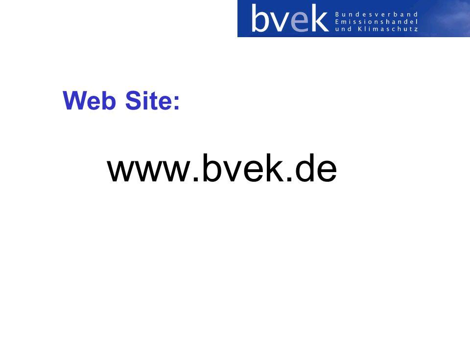 Web Site: www.bvek.de
