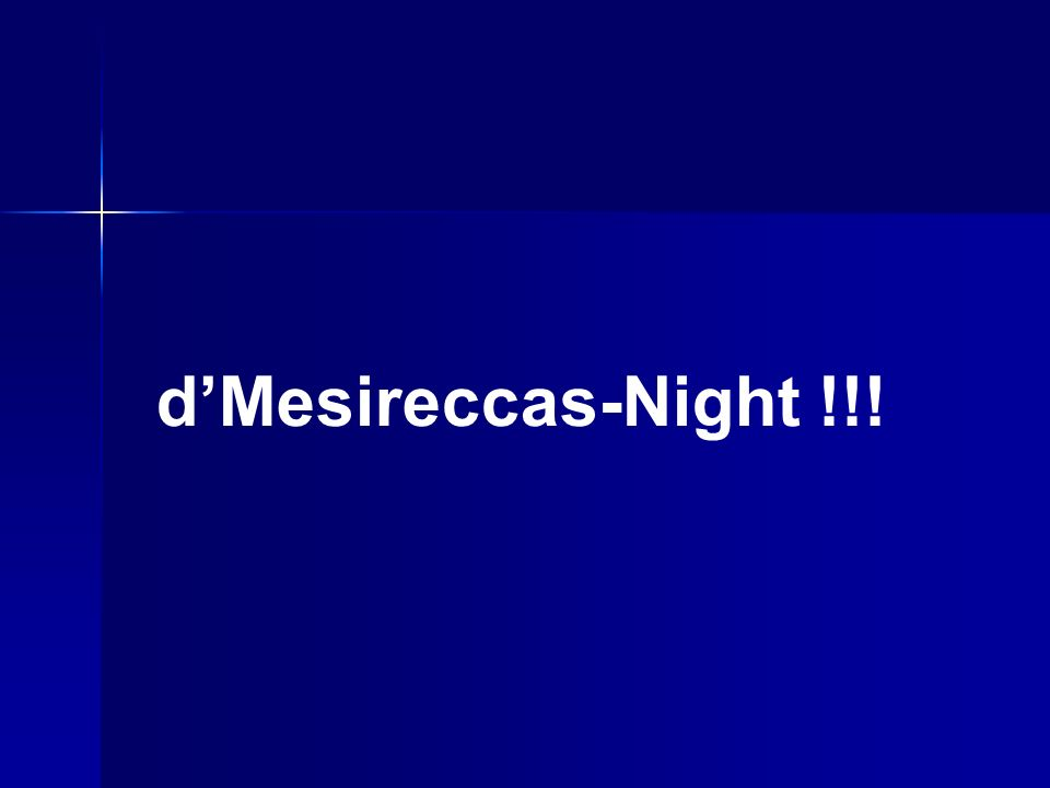 dMesireccas-Night !!!