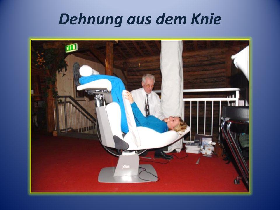 Dehnung aus dem Knie