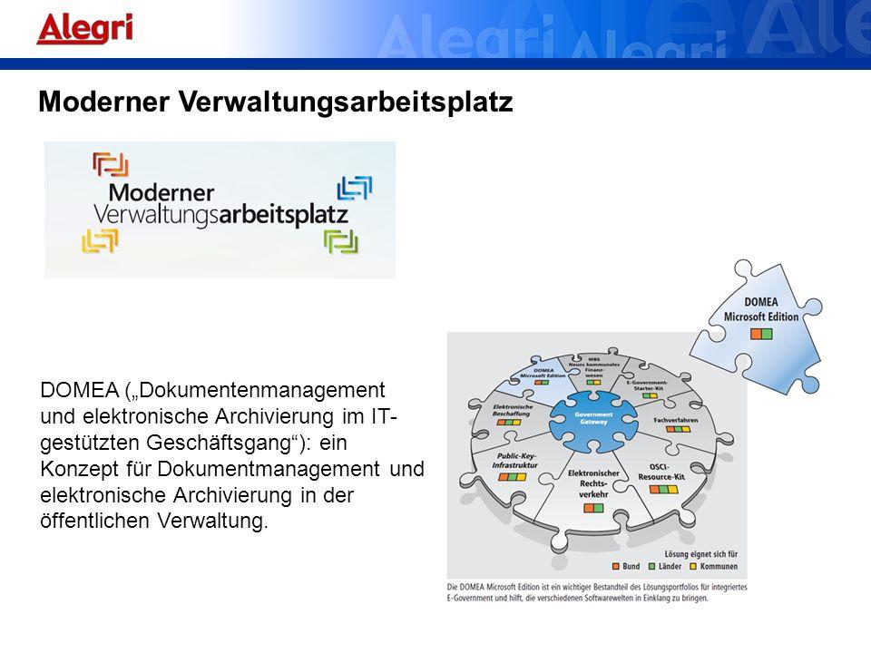 DOMEA (Dokumentenmanagement und elektronische Archivierung im IT- gestützten Geschäftsgang): ein Konzept für Dokumentmanagement und elektronische Arch