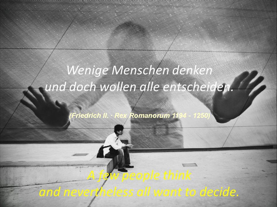 Moral der Geschichte: 1.