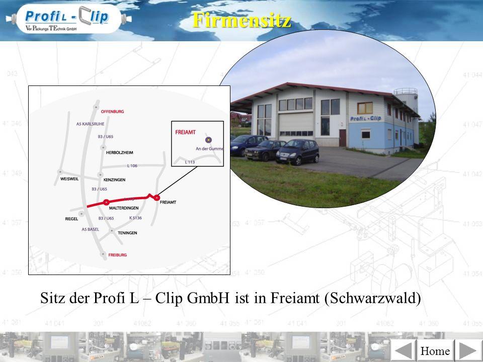 Sitz der Profi L – Clip GmbH ist in Freiamt (Schwarzwald) Firmensitz Home