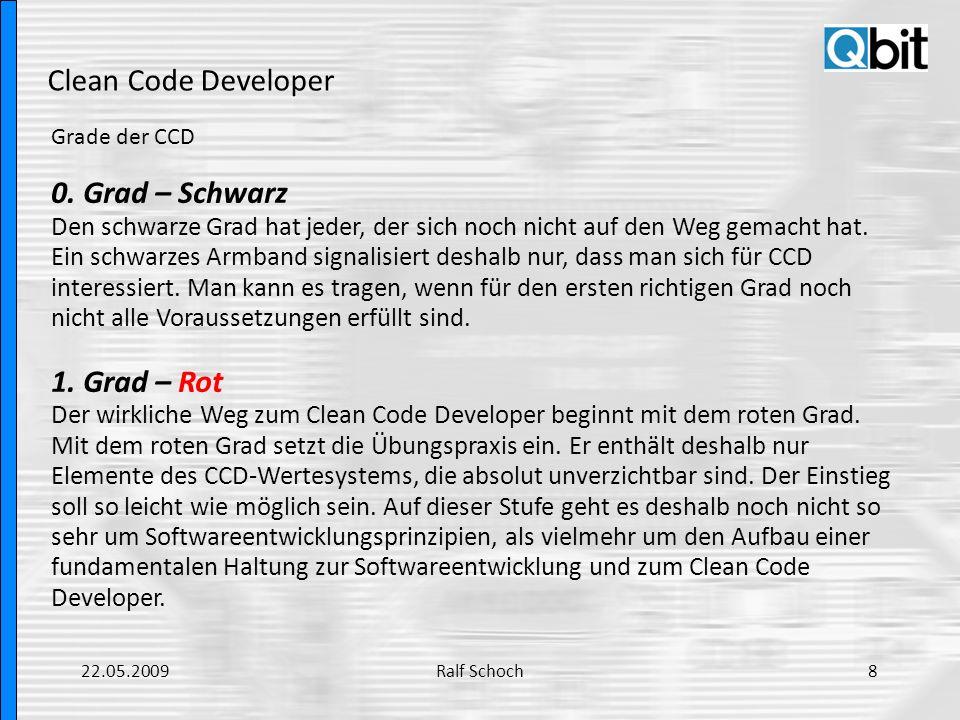Clean Code Developer Grade der CCD 2.